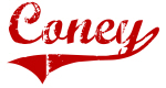 Coney (red vintage)