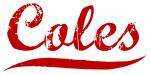 Coles (red vintage)
