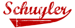 Schuyler (red vintage)