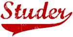 Studer (red vintage)