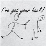 Got your back!