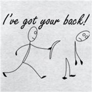 Got your back!