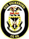 USS Vicksburg CG-69 Navy Ship