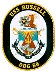 USS Russell DDG-59 Navy Ship