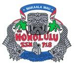USS Honolulu SSN 718 Navy Ship