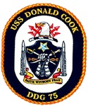 USS Donald Cook DDG 75 US Navy Ship