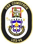USS Comstock LSD 45 US Navy Ship