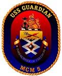 USS Guardian MCM 5 US Navy Ship