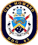 USS Howard DDG 83 US Navy Ship