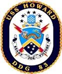 USS Howard DDG 83 US Navy Ship