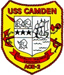 USS Camden AOE 2 US Navy Ship