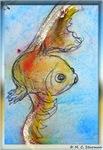 Goldfish art!