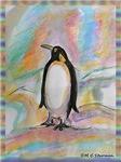 Penguin, fun art