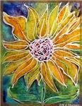 Sunflower! summer flower, art!