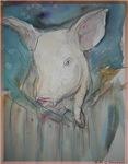 Piglet! Pig art!