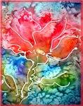 Tulip! Colorful spring art!