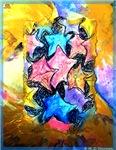 Starfish, nature art,
