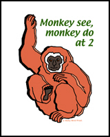 MONKEY FOR 2 YEAR OLDS