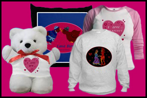 VALENTINES DAY T-SHIRTS & GIFTS