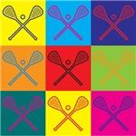 Lacrosse Pop Art