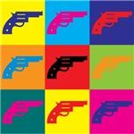 Guns Pop Art