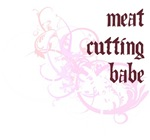 Meat Cutting Babe