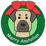 Anatolian Shepherd Christmas Ornaments