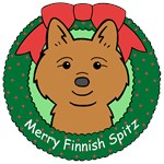 Finnish Spitz Christmas Ornaments