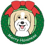 Havanese Christmas Ornaments
