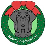 Neopolitan Mastiff Christmas Ornaments