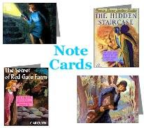 Nancy Drew Note Cards