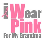 I Wear Pink For My Grandma T-Shirts & Gifts