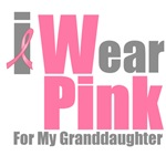 I Wear Pink For My Granddaughter T-Shirts