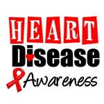 Heart Disease Awareness T-Shirts & Gifts
