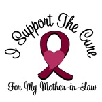 I Support The Cure Myeloma (M-I-L) T-Shirts