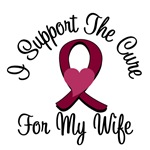 I Support The Cure Myeloma (Wife) T-Shirts