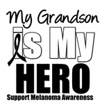 Melanoma Hero (Grandson) T-Shirts & Gifts