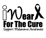 I Wear Black Ribbon For the Cure T-Shirts & Gifts