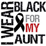 I Wear Black For My Aunt Shirts & Gifts