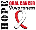 Hope Oral Cancer Awareness T-Shirts & Gifts