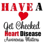 Heart Disease Awareness Matters T-Shirts &
