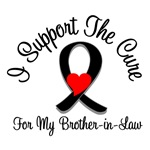 I Support The Cure Melanoma Brother-in-Law Shirts