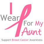 I Wear Pink For My Aunt Shirts & Tees