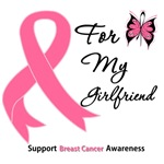 Breast Cancer For My Girlfriend Shirts & Gifts