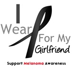 Melanoma I Wear Black For Girlfriend Shirts