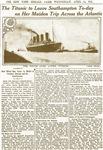 Titanic Leaves Southhampton To-Day