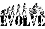 Honda CBR Sportbike Evolution T-shirts