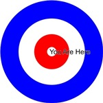 You Are Here Curling House Curler Curl