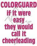 Colorguard: If It Were Any Easier They Would Call It Cheer Leading