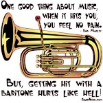 Hit By a Baritone